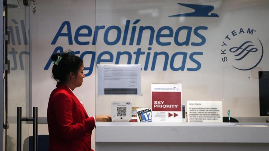 Aerolíneas Argentinas anuncia cancelación de vuelos a Venezuela por seguridad