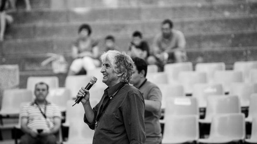 El actor Eugenio Amaya en el Teatro Romano de Mérida