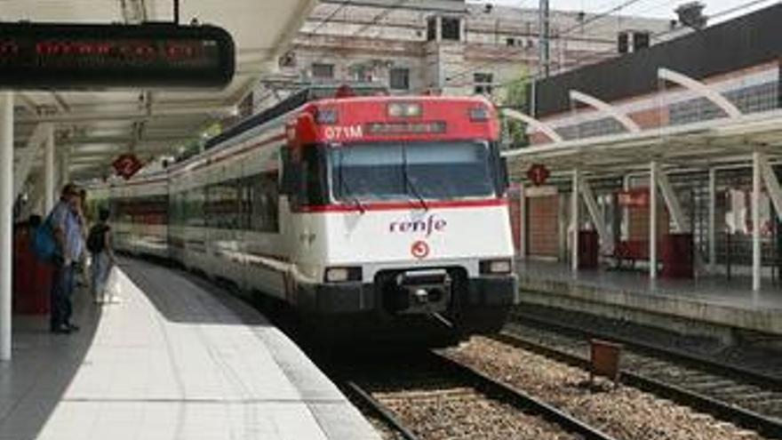 Renfe garantiza la circulación de entre el 65% y el 72% de los trenes