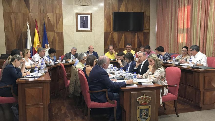 Sesión plenaria del Cabildo celebrada este martes.
