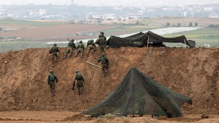 Un palestino muerto cerca de la frontera de Gaza por disparos de un tanque israelí