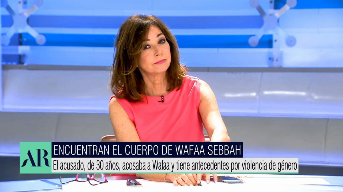 Ana Rosa Quintana, en su programa de Telecinco