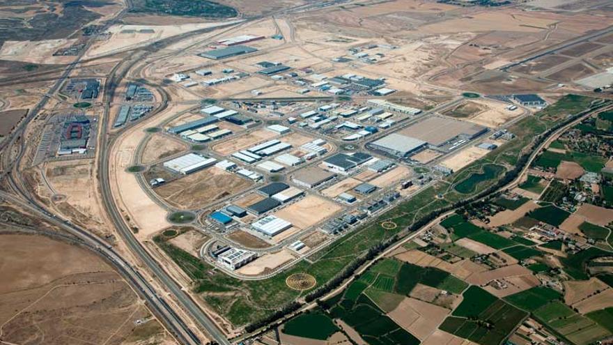 La plataforma logística de Zaragoza acumula una deuda de 60 millones de euros.