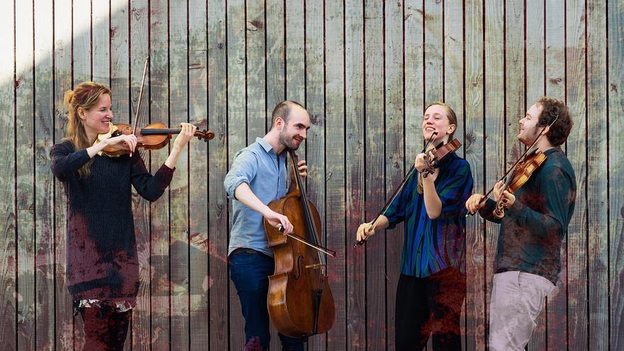 En la imagen, North Sea String Quartet.