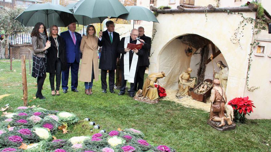 Inauguración del Belén de Caja Rural en Toledo