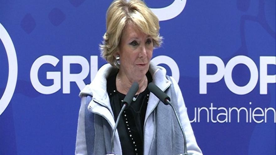 """Aguirre dice que no tiene """"ni idea"""" de supuestos pagos de sondeos al PP por parte de constructoras"""
