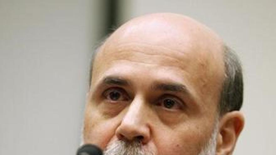El presidente de la Fed, Ben Bernanke