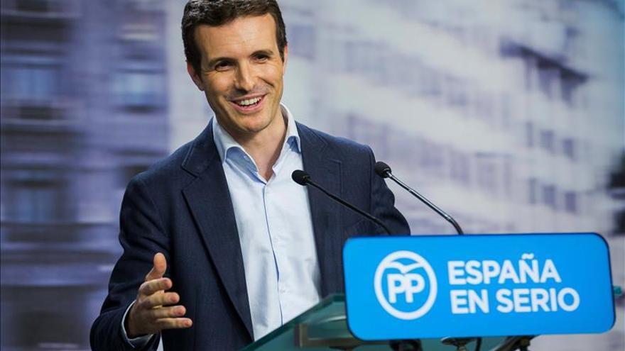 """Pablo Casado: """"El PP es un partido que sabe llegar a acuerdos"""""""