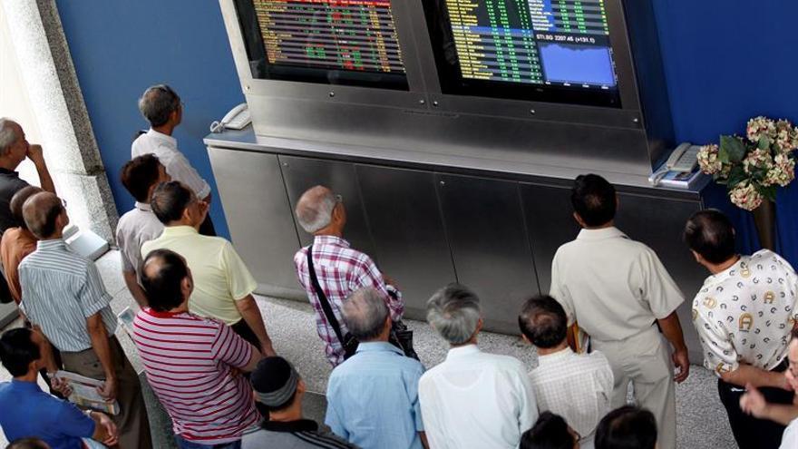 Las bolsas del Sudeste Asiático comienzan con pérdidas