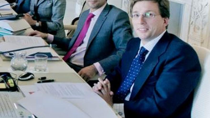 José Luis Martínez Almeida, nuevo portavoz del Partido Popular en el Ayuntamiento de Madrid