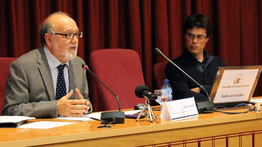 Reyes Mate, filósofo y Premio Nacional de Literatura.