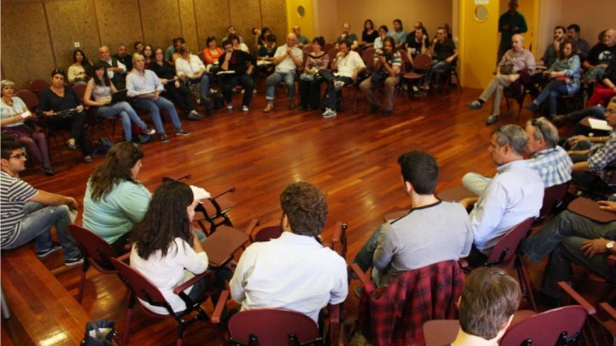 ASamblea de Ganemos en Ciudad Real