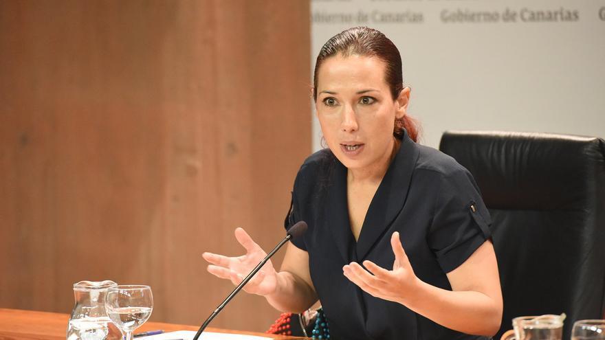 La vicepresidenta del Gobierno de Canarias Patricia Hernández (CANARIAS AHORA)