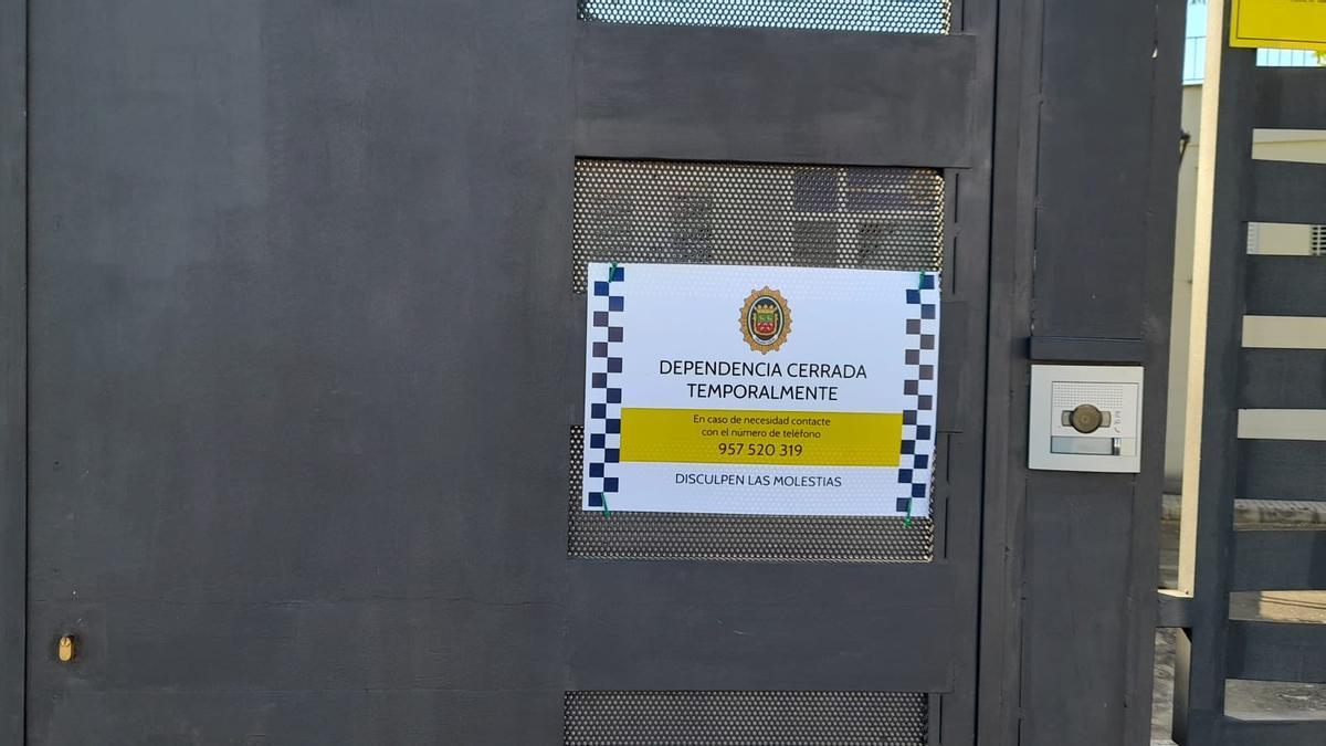 Jefatura de la Policía Local cerrada temporalmente