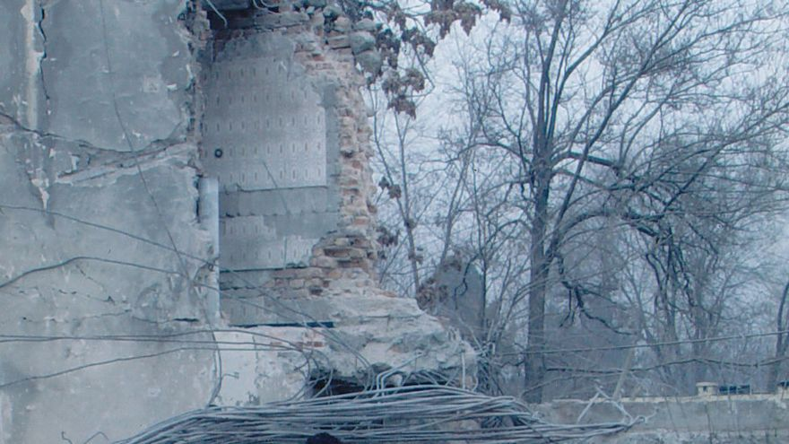 Ali Soufan, a la izquierda, fotografiado en Kabul, Afganistán, en 2002