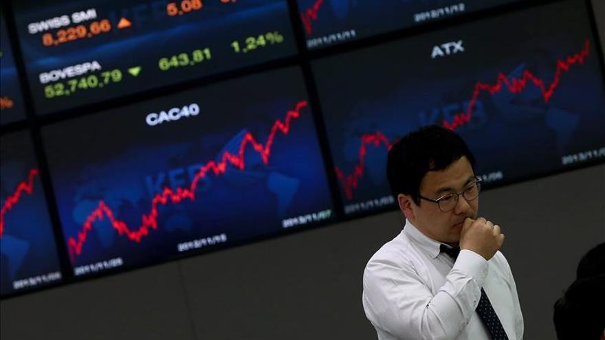 El Kospi surcoreano sube un 0,89 por ciento hasta los 1.982,48 puntos