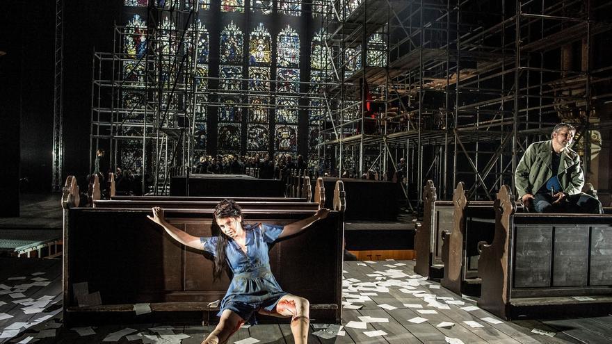 El Teatro Arriaga acoge el estreno en el Estado de 'War Requiem', de Calixto Bieito