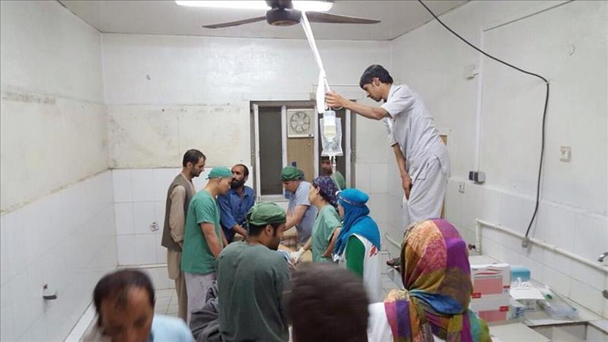 """MSF anuncia que el hospital de Kunduz bombardeado """"ya no está operativo"""""""