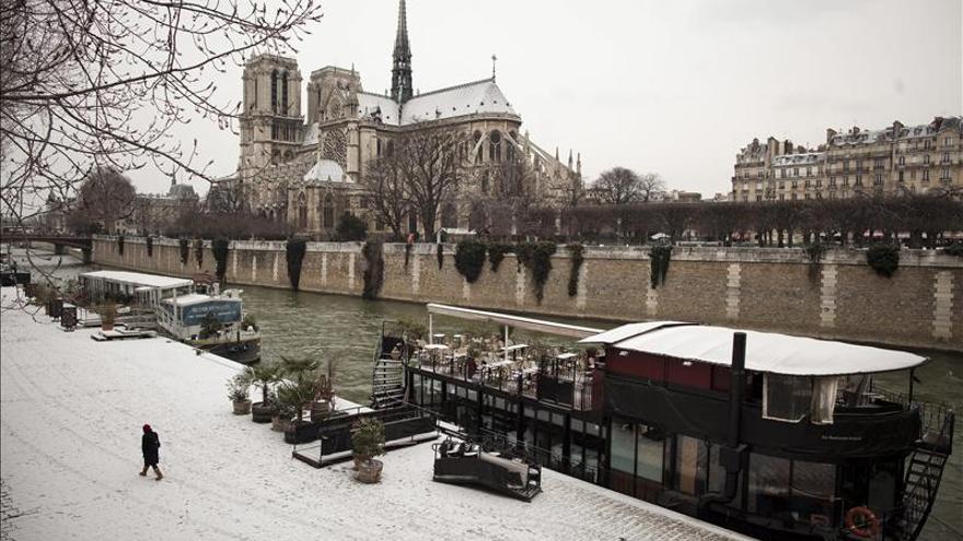 París registra la noche de mayo más fría desde 1887
