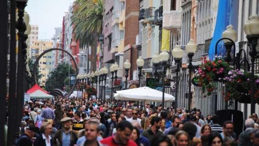 Calle de Triana en Las Palmas de Gran Canaria