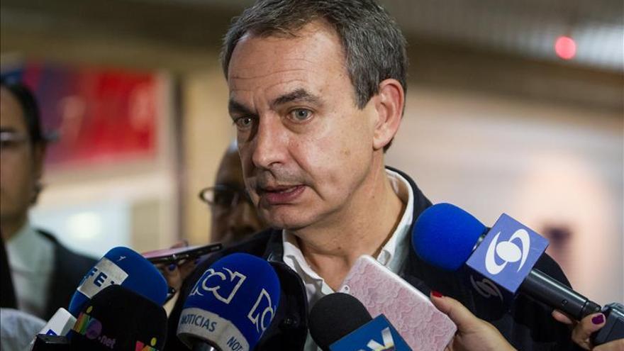 """Zapatero espera promover """"respeto"""" y """"tolerancia"""" durante su visita a Venezuela"""