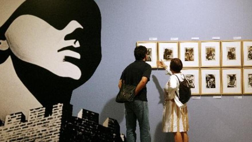 Muestra de la colección de Josep Renau.