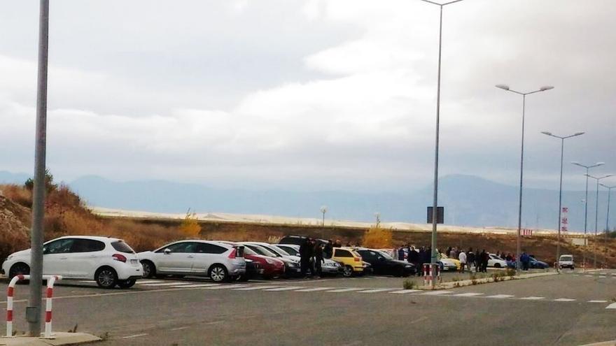 La Policía Foral interviene en tres carreras ilegales en la comarca de Pamplona