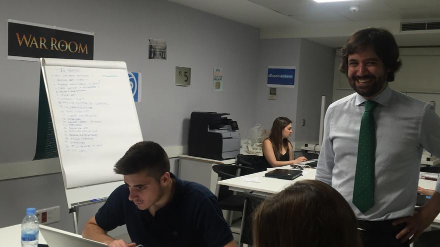 Alfonso García Vicente, coordinador de la campaña digital del PP.