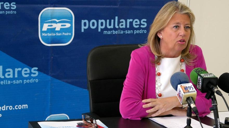 Ángeles Muñoz, alcaldesa en funciones de Marbella