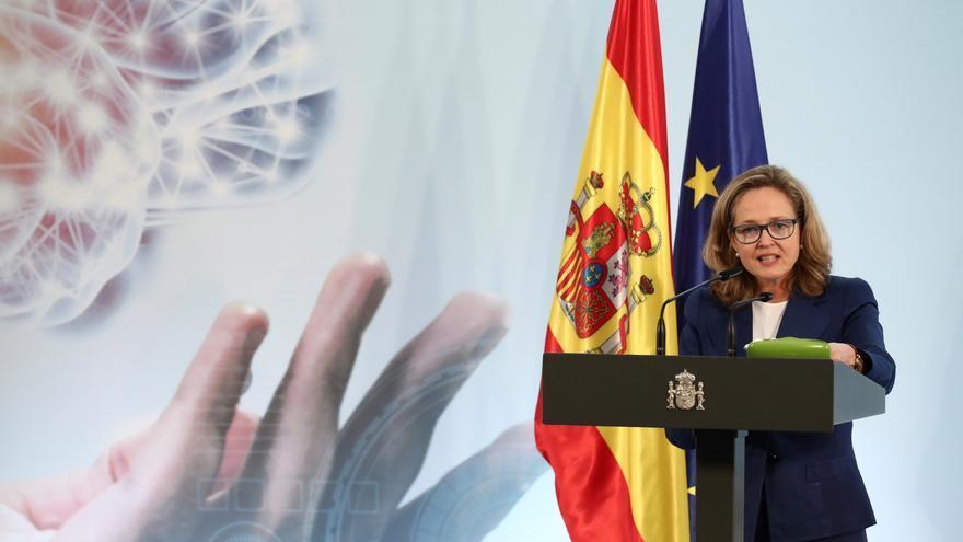 Calviño mantiene que la economía española crecerá en el cuarto trimestre