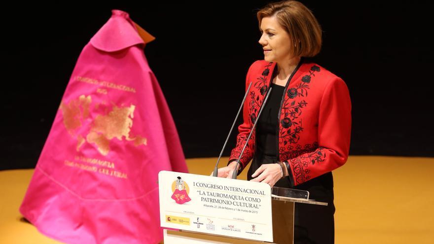 María Dolores de Cospedal, en el Congreso de Tauromaquia de Albacete / JCCM
