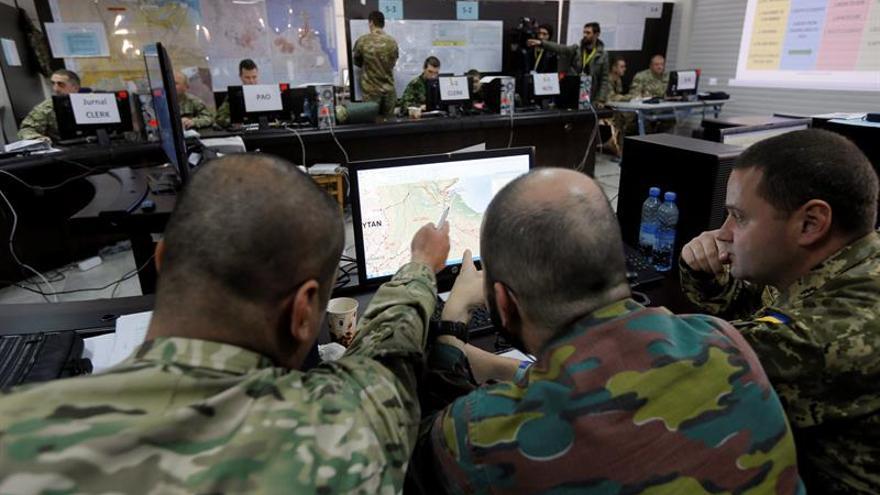 Ocho países de OTAN y sus socios participan en maniobras militares en Georgia