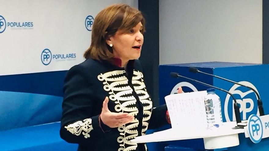 Isabel Bonig quiere que el PP lidere el bloque de la derecha con Ciudadanos y Vox