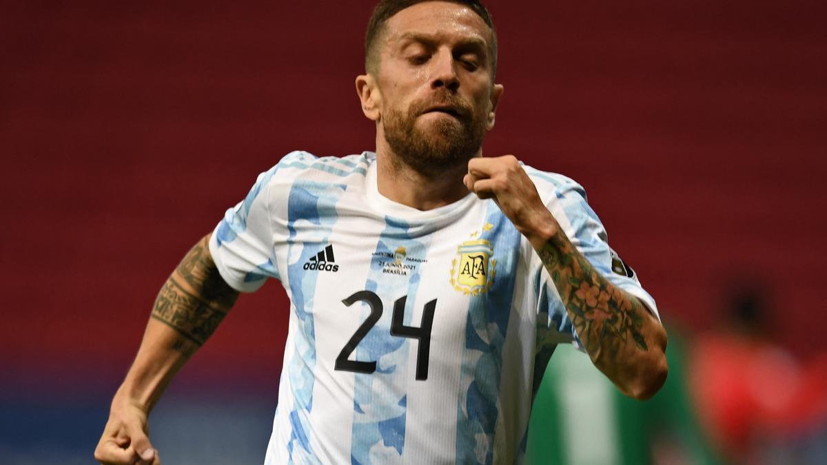 "Alejandro ""Papu"" Gómez, autor del único gol frente a Paraguay"