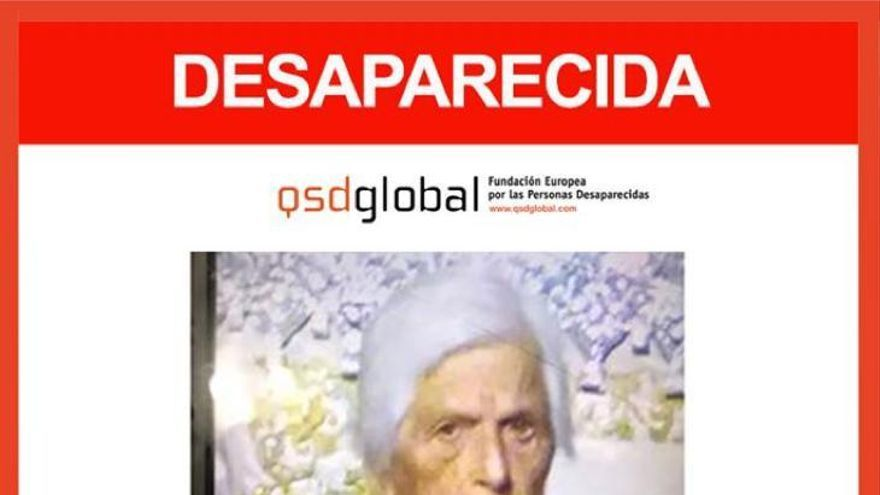 Leduvina García, la anciana de 90 años desaparecida en Teror