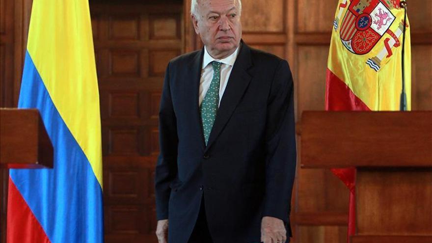 García-Margallo rinde homenaje a Blas de Lezo en Cartagena de Indias
