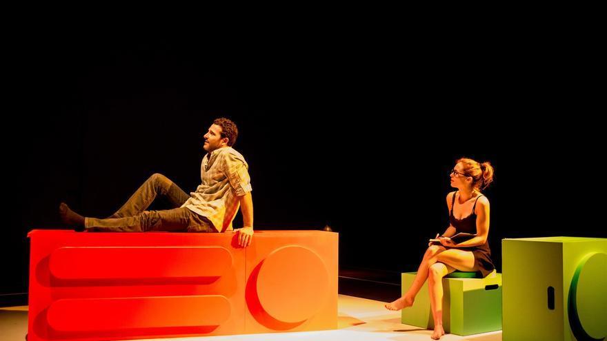 Sauce Ena y Mariano Rochman protagonizan 'Sed'. | Doble Sentido Producciones