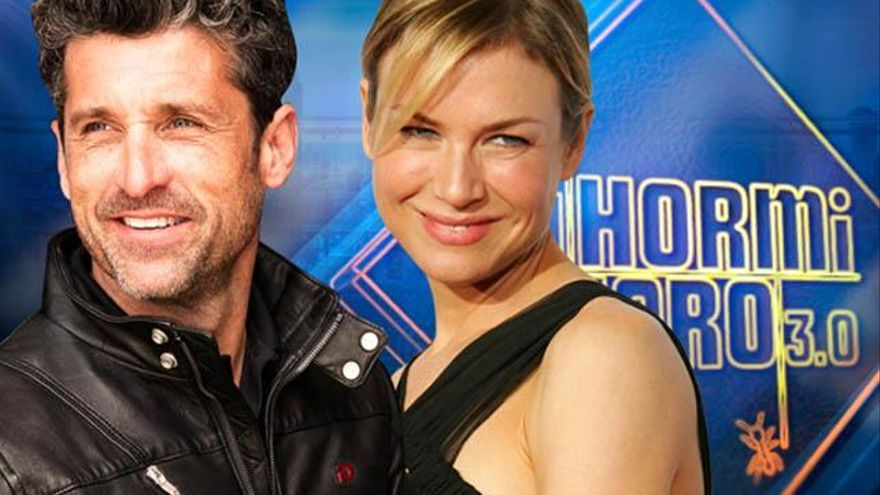 Renée Zellweger y Patrick Dempsey, estrellas en 'El Hormiguero'