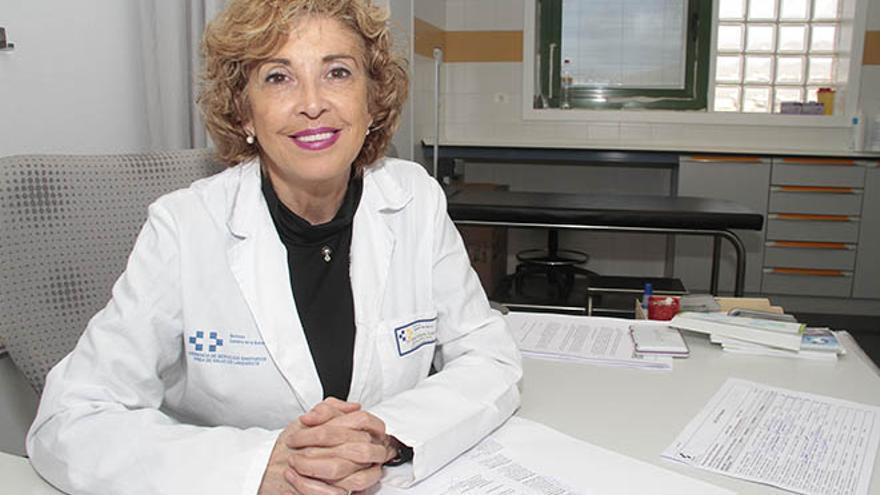Dulce María Reyes, jefa de sección de Digestivo del Hospital José Molina Orosa
