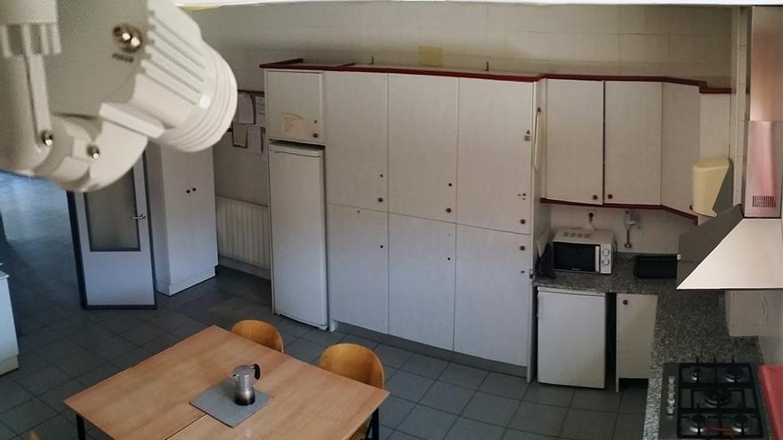 Videocámara instalada en la comida/comedor del parque de bomberos de Segorbe