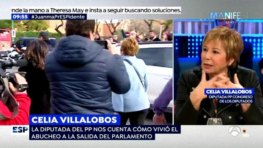 """Celia Villalobos en """"Espejo Público"""""""