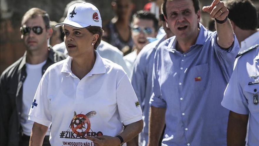 """Rousseff afirma que Lula es """"objeto de una gran injusticia"""" tras las acusaciones"""