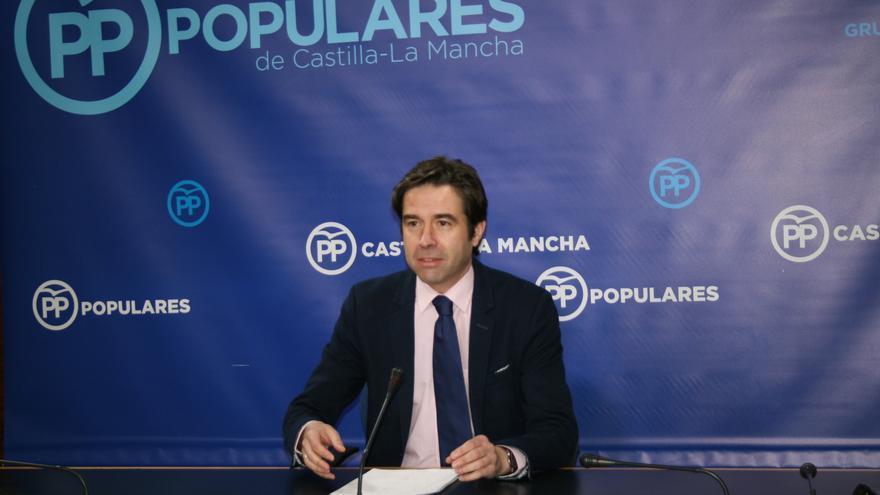 El portavoz del PP de Castilla-La Mancha, Lorenzo Robisco