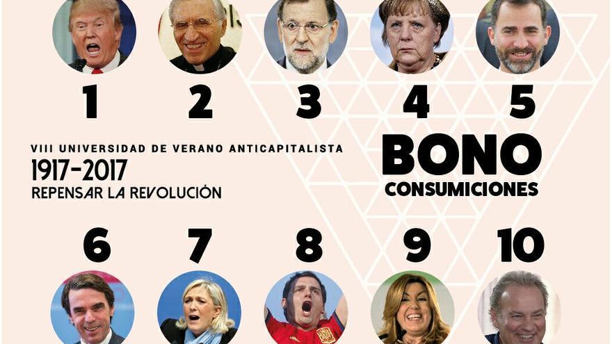 Bono de bebidas de la Universidad de Verano de Anticapitalistas