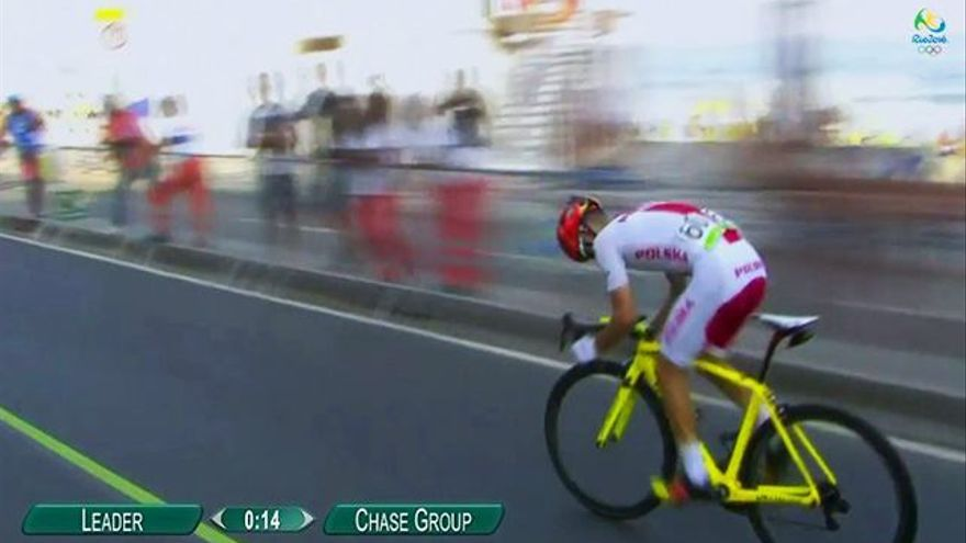 Quejas a TVE por cortar un tramo del ciclismo en ruta