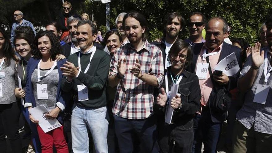 Prudencia e ilusión en Podemos a pocas horas de conocer el resultado electoral