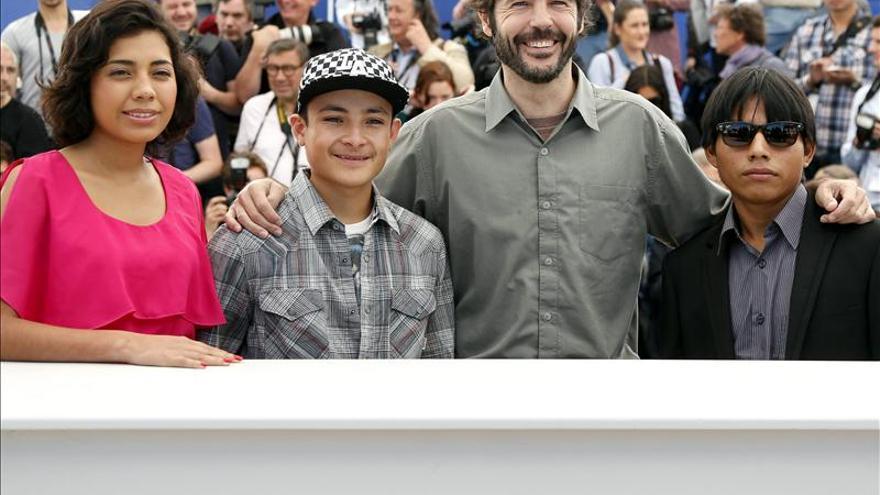 """Los actores de """"La jaula de oro"""", premio """"Una cierta mirada"""" en Cannes"""