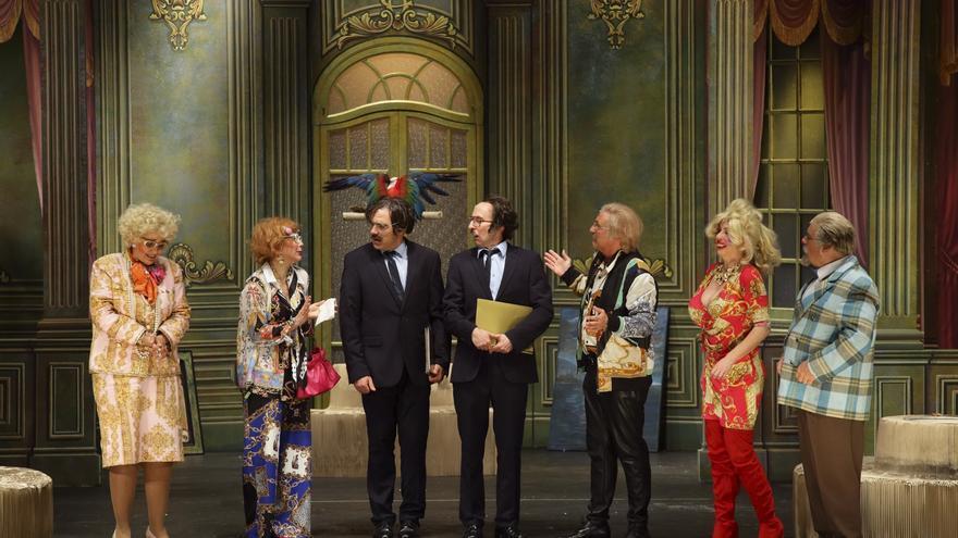 Imagen de la puesta en escena de 'Adiós Arturo'