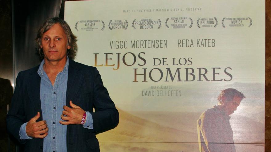 Viggo Mortensen en el photocall Lejos de los hombres, Foto: Álvaro Moriano