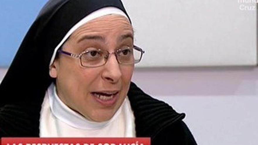 El Vaticano apercibe pero respalda a la televisiva Sor Lucía Caram